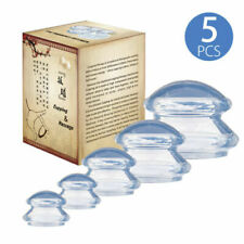 5 Cups Cupping Set Vacuum Suction Chinese Massage Medical Body Health Therapy Us