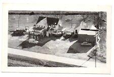 Vintage 1950s Schreiner's Service Gas Station Sedalia Missouri Postcard