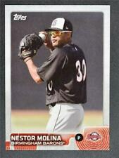 2015 Topps Pro Debut #124 Nestor Molina - NM-MT