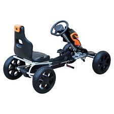 Go Kart Racing Deportivo Coche de Pedales para Niños 3-12 Años Asiento Ajustable
