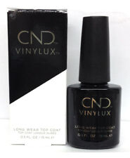 Cnd VINYLUX Weekly Top Coat 0.5oz/15ml - Long Lasting, Fast Drying #09862