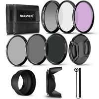 Neewer 49MM Pro UV CPL FLD Lens Filter and ND Filter(ND2,ND4,ND8) Accessory Kit