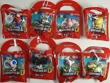 2009 Super Mario Bros Wii Dakara Keychain Figure Complete Full Set Japan