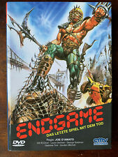 Endgame DVD 1983 Post-Apocalyptic Italian Sci-Fi Movie German Hardbox