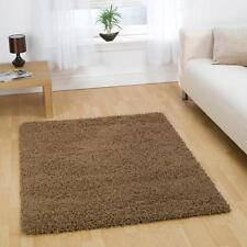 SALE Nordic Cariboo Beige Plain Shaggy Rug in various sizes runner and circle