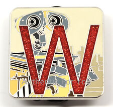 NEW 2016 Disney Pin Pixar Alphabet Letter W WALL-E CHASER LE 400 Mystery Box Set