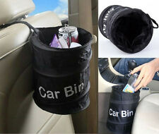 Bell Wastebasket Trash can Litter Container Car Auto Rv Pop Up Garbage Bin Bag A