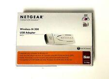 NetGear Rangemax Next Wireless-N USB2 (WN111-100NAS) Wireless Adapter in box