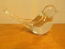 glass bird figurine or paperweight