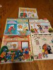 Elmo's Neighborhood Lot of 5 Board Books Sesame Street - Post Office, School