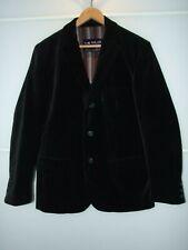 TOM TAILOR Men's Black Velvet Party Occasion Jacket/Blazer in size L