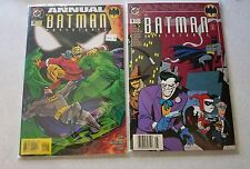 The batman adventures annual 1 and 2 1994 dc 1st series