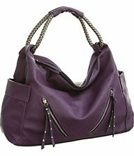 NEW Vitalio Vera Keanu Purple Extra Large Hobo Oversized Purse FREE SHIPPING