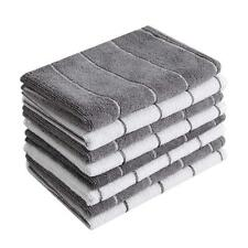 New listing Microfiber Kitchen Towels - Super Absorbent, Soft and Solid Color Dish Grey