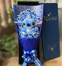 2019 Hot Crown Bunch of 11 Lilo Stitch Doll Toy flower Birthday Creative Gift