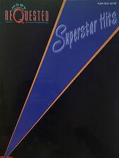 Più richiesti SUPERSTAR Hits (PIANO/VOCAL/Chitarra Songbook) fuori stampa, Nuovo di zecca!