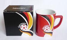 "NESCAFE COFFEE Red FIFA Brazil Mug GERMANY World Cup 2014 Nestle 3.5"" Malaysia"