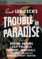 TROUBLE IN PARADISE (Masters of Cinema) (DVD) [1932][Region 2]