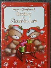 MERRY CHRISTMAS BROTHER AND SISTER IN LAW CHRISTMAS CARD