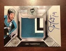 Joe Thornton Sharks Cup Limited Logos