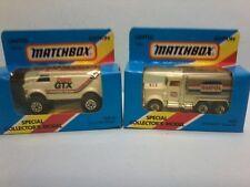 """MATCHBOX 1/75 MB68 4X4 CHEV VAN  """"CASTROL & MB5 PETERBUILT """"AMPOL"""" TANKER  MBX"""