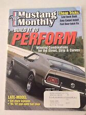 Mustang Monthly Magazine Combo For Street Strip January 2002 041117NONRH2