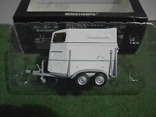 1/43 Minichamps Van / remorque pour Chevaux Boeckmann 400905120