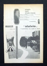 C655 - Advertising Pubblicità - 1953 - PIRELLI PNEUMATIVO STELVIO