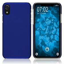 Hardcase Apple iPhone Xr rubberized blue Cover Case