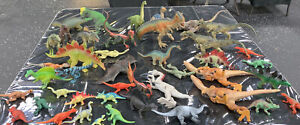 Dinosaur Toy Lot Of 30+ Action Figures Mojo Schleich Papo