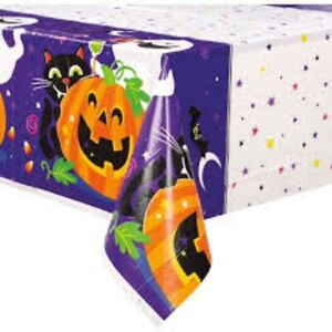"Happy Halloween Printed Rectangle Table Cover 54"" x 84"""