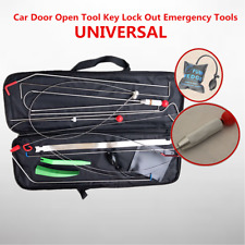 Automotive Car Door Repair Tool Emergency Hand Kit Unlock+Air Pump Accessories