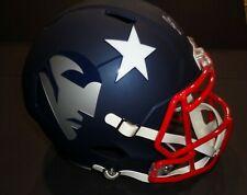 Mohamed Sanu SR New England Patriots Autographed Full Size Rep Helmet w-coa JSA