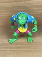 1989 Genghis Frog Teenage Mutant Ninja Turtles TMNT Vintage Figure TMNT
