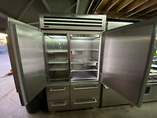 "Sub Zero 4850pro 48"" Refrigerator Freezer 4 Drawer Side By Side Stainless Steel"