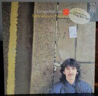 GEORGE HARRISON Somewhere In England HYPE/PRICE Dark Horse DHK 3492 Lp NM Vinyl