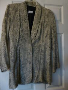 Snake Print Suite Size 12
