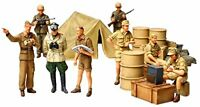 TAMIYA 1/48 WWII German Africa Corps Infantry Set Model Kit NEW from Japan