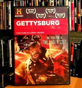 Gettysburg - Nel Cuore Della Battaglia (2011) Tony e Ridley Scott DVD COME NUOVO