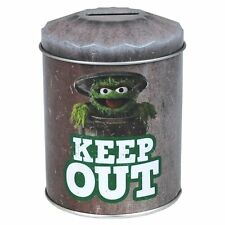 Sesame Street Grouch Dustbin Money Tin