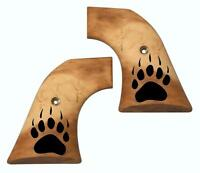 Custom Ruger Bear Paw Faux Bone Grips NEW Model Vaquero XR3 Frame Revolvers