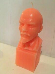 Orange Lenin Candle
