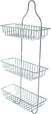 3 Tier Bathroom Caddy Shower Organiser Shelf Hanging Storage Rack Tidy Basket