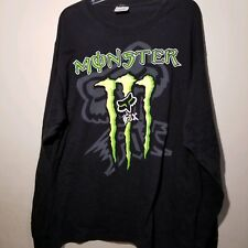 Monster Fox Racing Long Sleeve Tshirt Size Adult XL