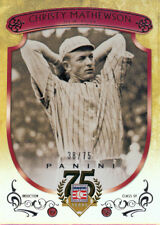 2014 Panini America Christy Mathewson 1936 Hall of Fame Pitcher 38/75 Only!