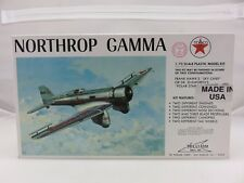 Williams Bros. NORTHROP GAMMA 1/72 Scale Plastic Model Kit NEW Old Stock