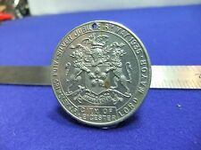 vtg medal pendant george mary city of leicester 1935 jubilee lord mayor ecpr