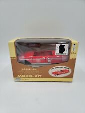 MOTOR MAX - 1:24 Diecast Model Kit - 1958 Chevy Impala Convertible - Red - ©2003