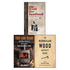 Norwegian Wood Activity Book 3 Books Collection Set Log Woodburning Stove NEW