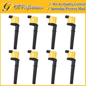 Performance Ignition Coil 8PCS Set for Ford GT Mustang/ Avanti/ Continental V8